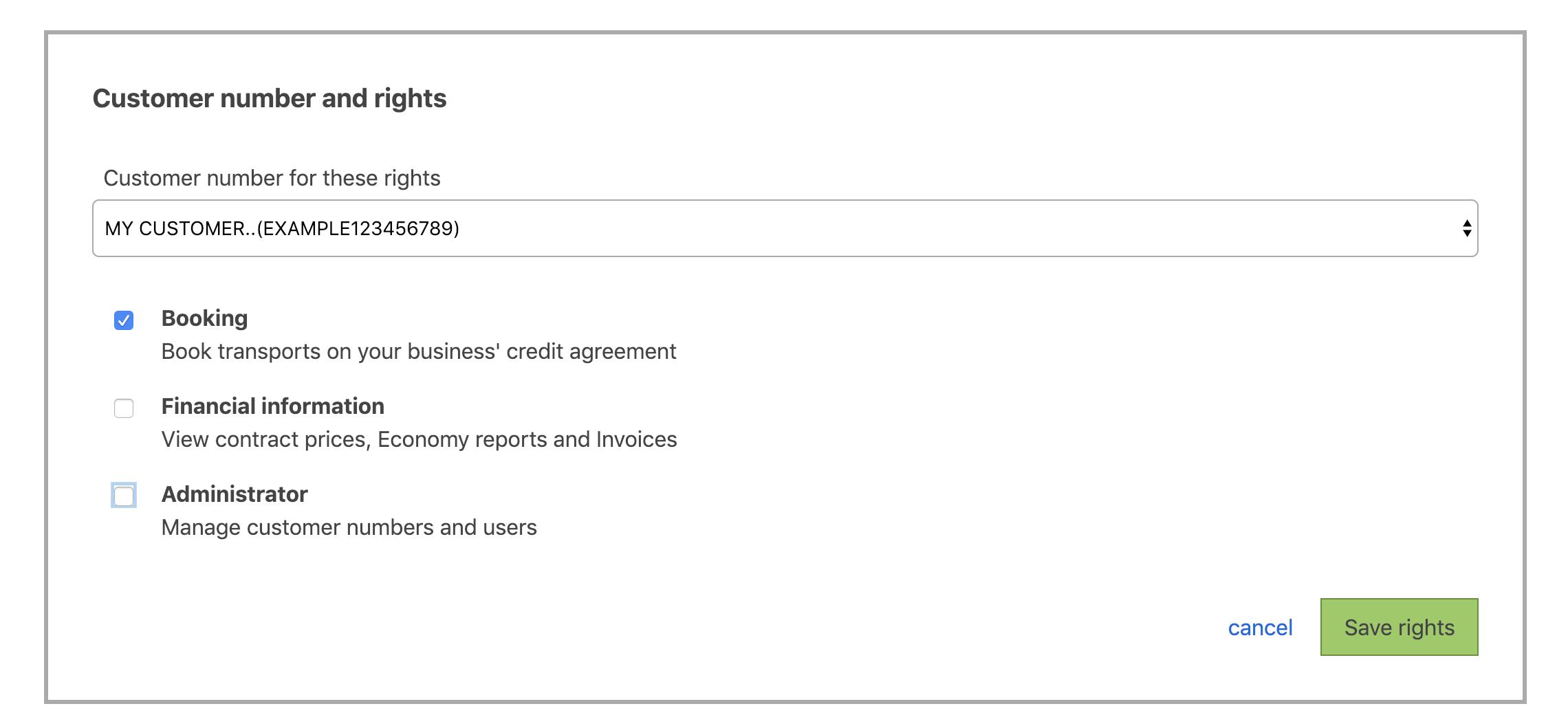 Booking API | Bring Developer